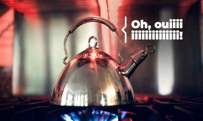 Plombier Expert | Bouilloire sur une cuisinière au gaz